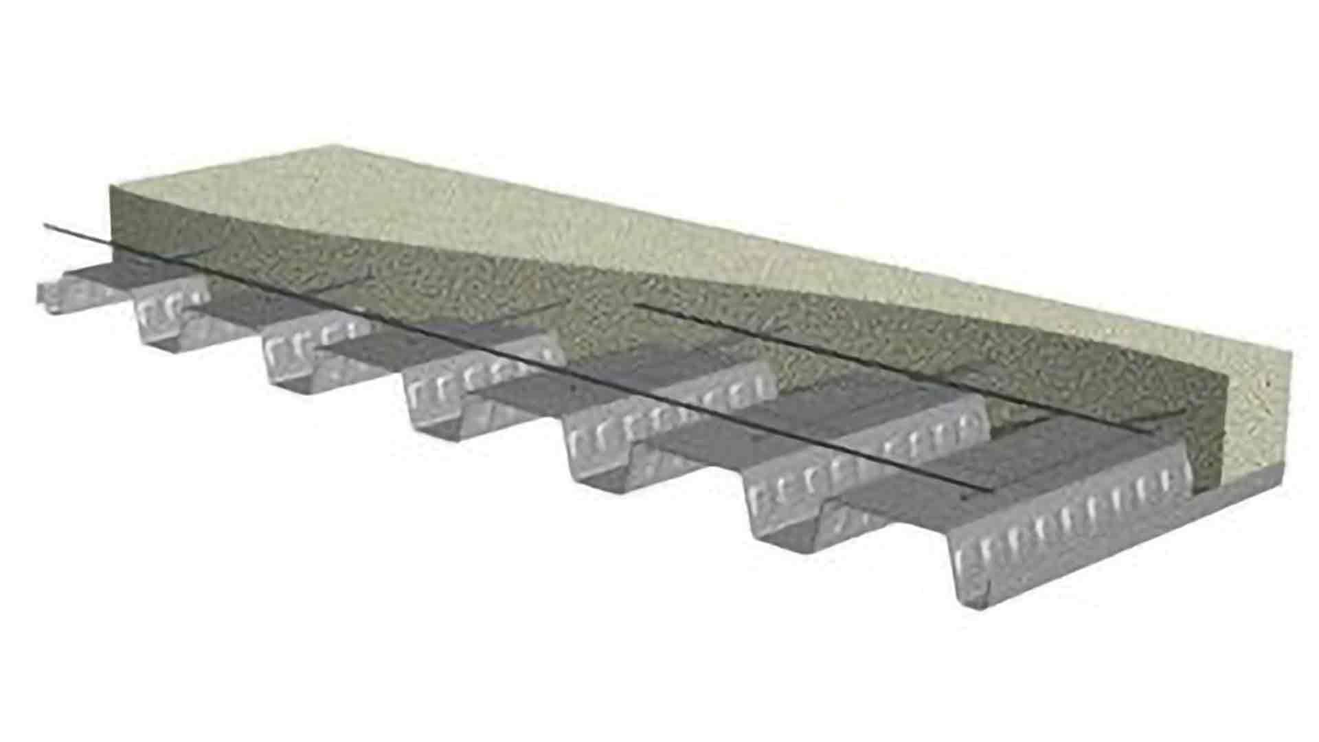 What Is Inverted Or Reversed Metal Decking?