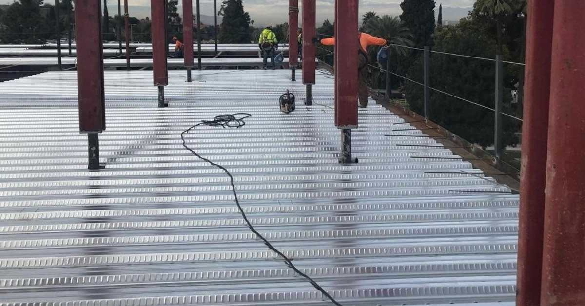 What Is Pan Decking? [Definition, Cost, & Alternatives]